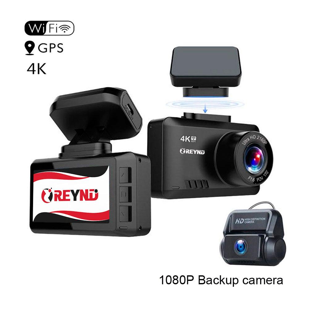 Видеорегистратор REYND F30 2 CAM WiFi GPS 4K